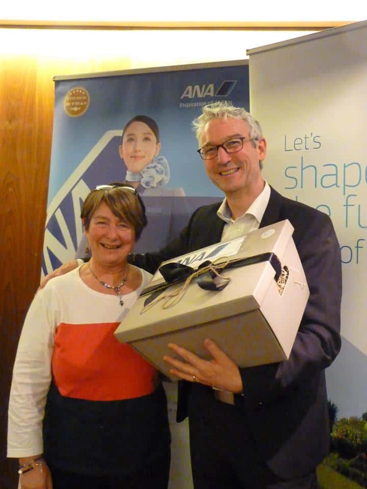 ANA Prizewinner at ASM Ireland Cork agent roadshow