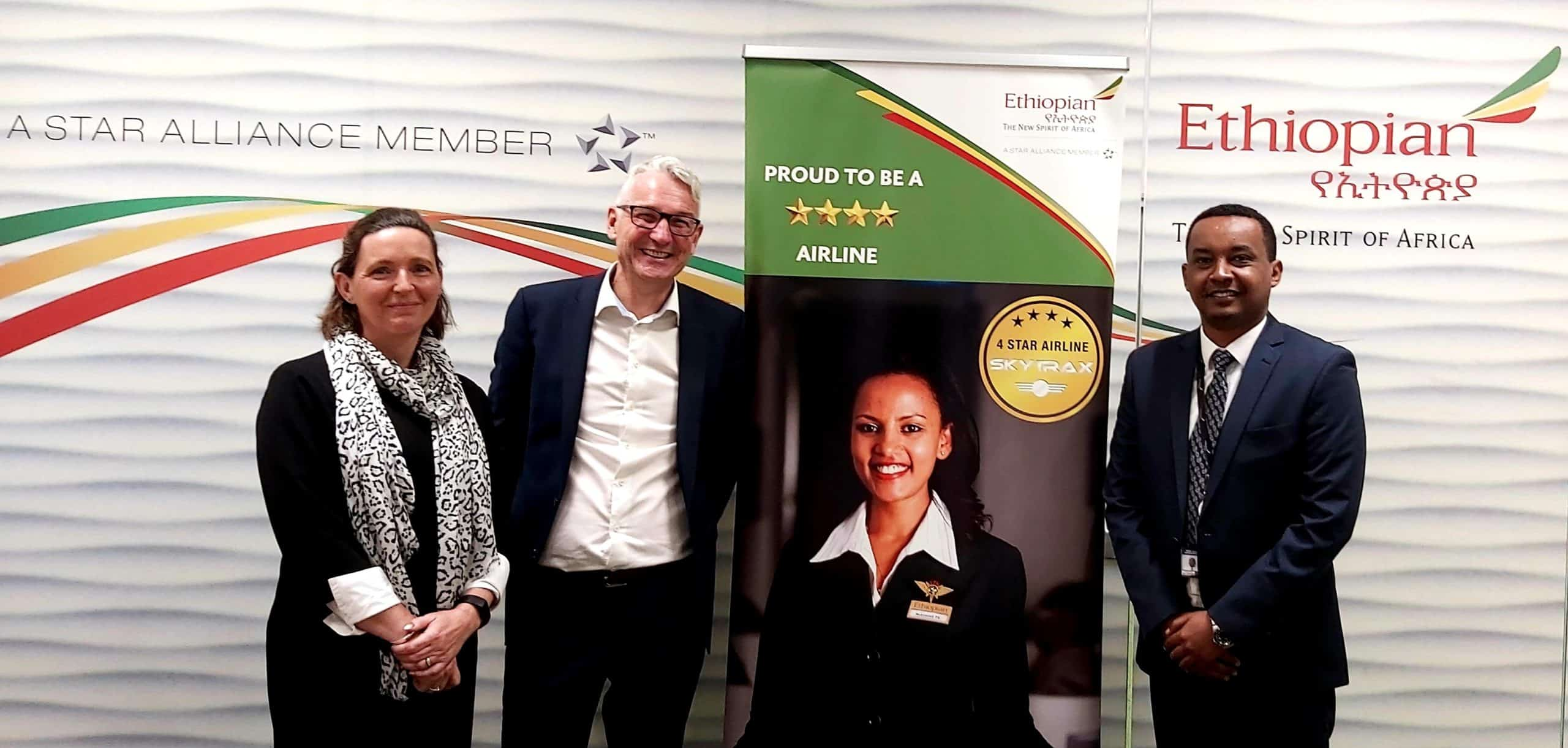 ASM Ireland sign with Ethiopian Airlines