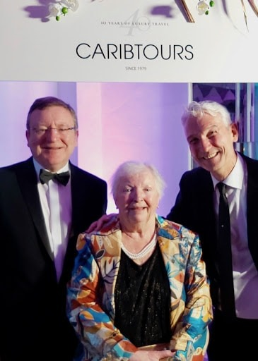 Caribtours Awards with Alan Sparling