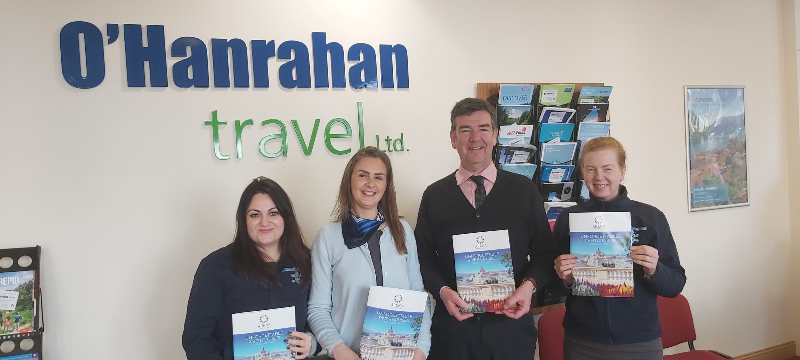 O'Hanrahan Travel love Arena River Cruises